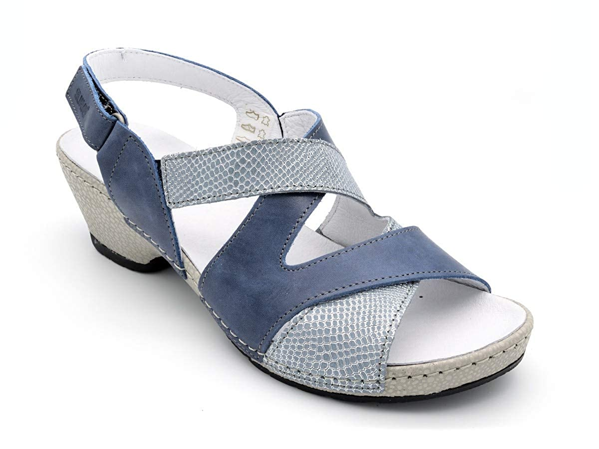 blå blå blå Elegant Sandal Soft M -3800 Beige  bästsäljare