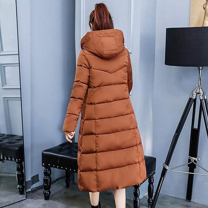 Coats For Women On Sale, Clearance!! Farjing Women Winter Sale Jackets Coat Long Thicken Warm Hooded Padded Coat at Amazon Womens Coats Shop