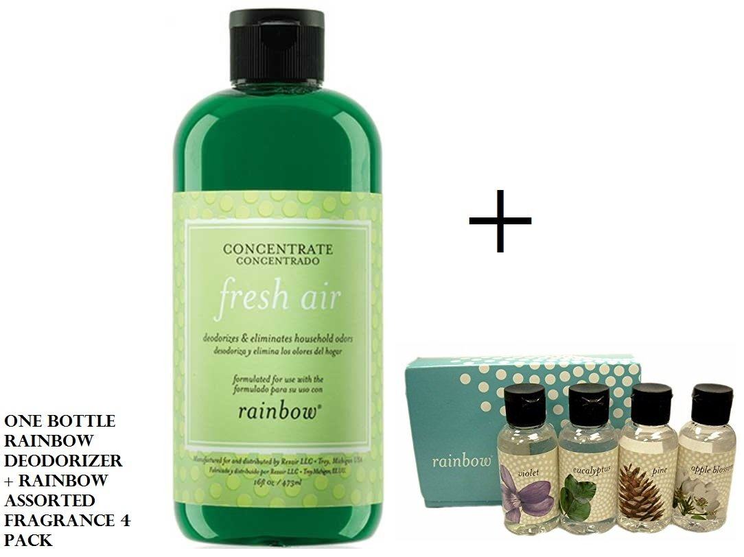Rainbow Deodorizer + Rainbow Assorted Fragrance scents
