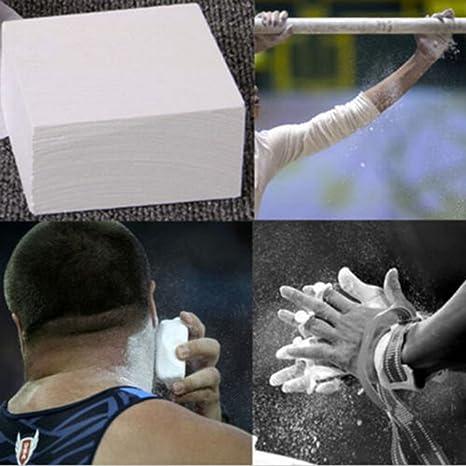 1x Carbonato de Magnesio Tiza para Entrenamiento Gimnasia Escalada 9 x 4,5 cm: Amazon.es: Deportes y aire libre