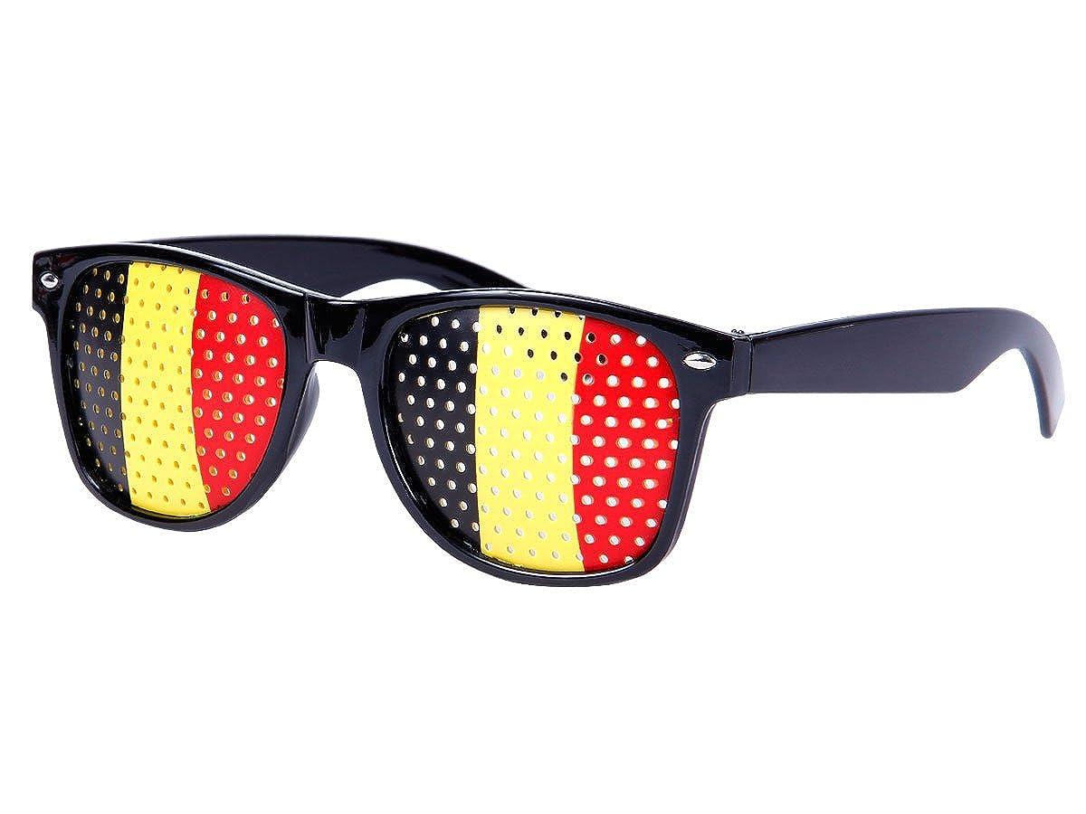 Alsino WM Fanbrille Fussball Brille Länderbrille Gitterbrille Deutschland, Portugal, Brasilien, Schweiz, England, Spanien, Italien, Frankreich, Russland, Kroatien, usa, wählen:V-1150 Portugal