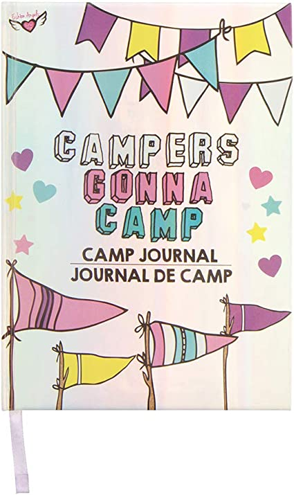 Fashion Angels Campers Gonna Camp Journal Assorted 77384