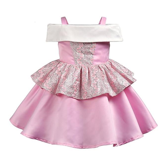 Amazon.com: YOYOXIU Vestido de princesa para bebés, vestido ...