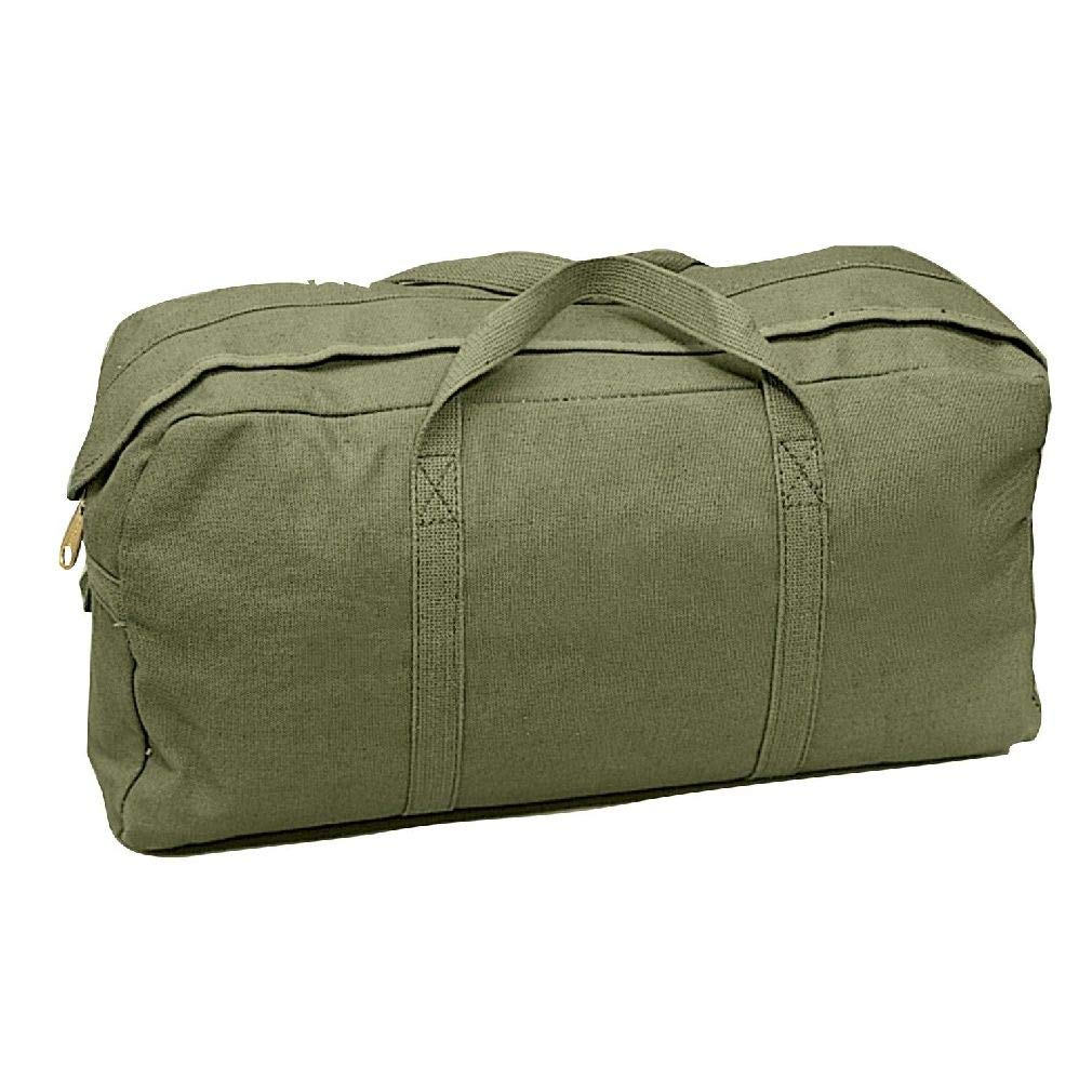 BlackC Sport Olive Drab Military Heavyweight Canvas Tanker Tool Bag by BlackC Sport