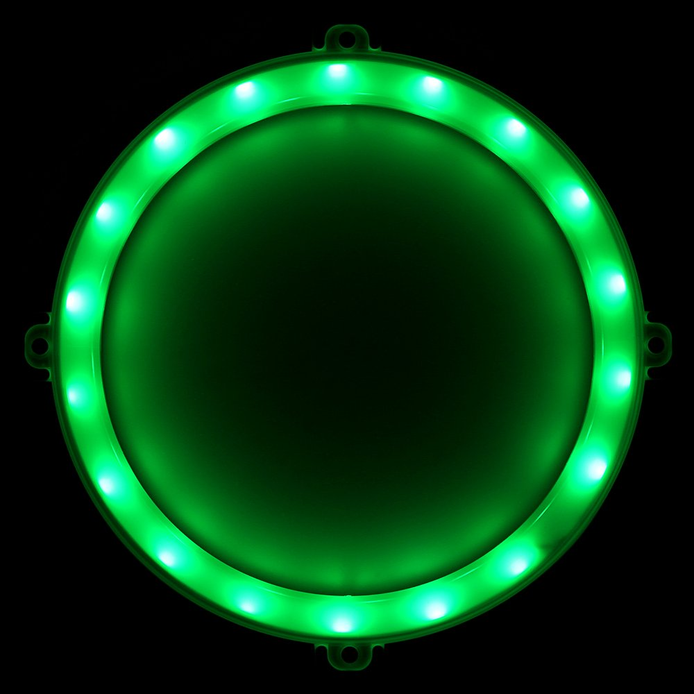 Blinngo Cornhole LED Lights, Ultra Bright Standard Cornhole Night Light for Family Backyard Bean Bag Toss Cornhole Game, Four Color Options, Long-Lasting Over 72 Hours, 2 Set (Green) by Blinngo