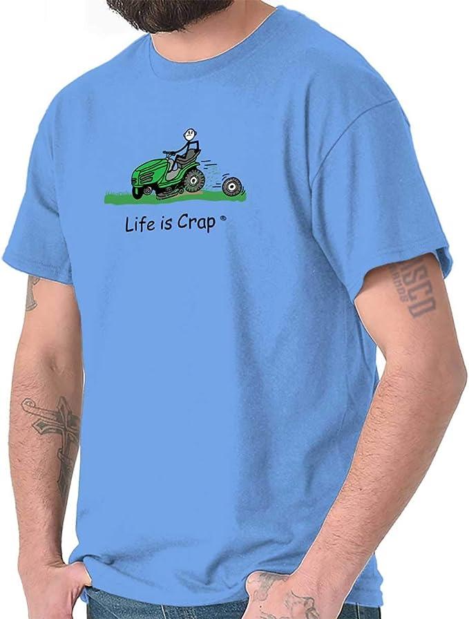 Amazon.com: Classic teaze Life is Crap roto cortacésped Good ...