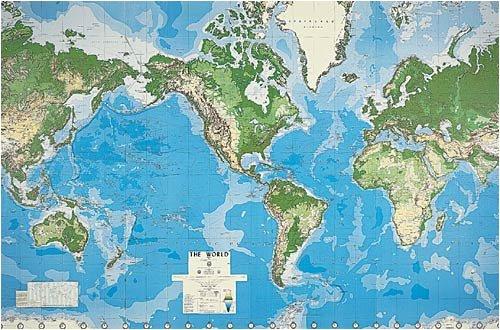 Globe Mural