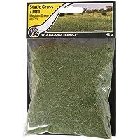 Woodland Scenics FS622 Static Grass, Medium Green 7mm