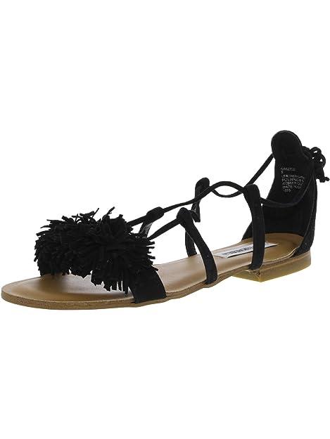 6b0f5da0599 Steve Madden Women's Swizzle Flat Sandal