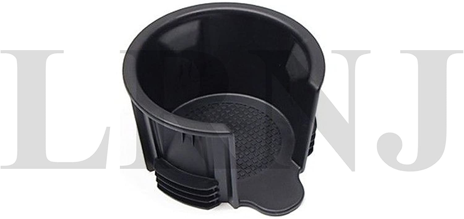 Land Rover Genuine Cup Holder Insert Front Reduced Size Black Plastic Compatible with Rover Range Rover Sport & Sport Supercharged 2006-2016 FWW500060PVJ / FWW500120 / FWW500160 / LR021330 / LR087454