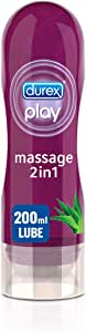 Durex Play Original Massage 2in1 Lube soothing Aloe Vera - 200ml Gel