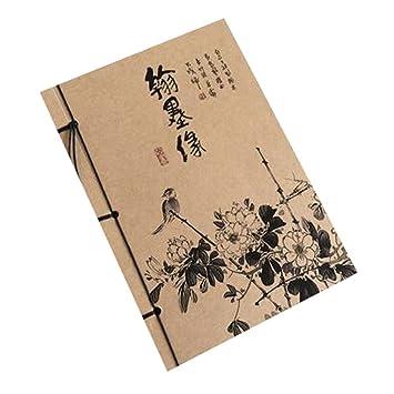Diario de viaje de estilo chino artístico Agenda de cuaderno ...
