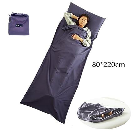 Yotek saco de dormir de algodón para cabaña, saco de dormir interior.
