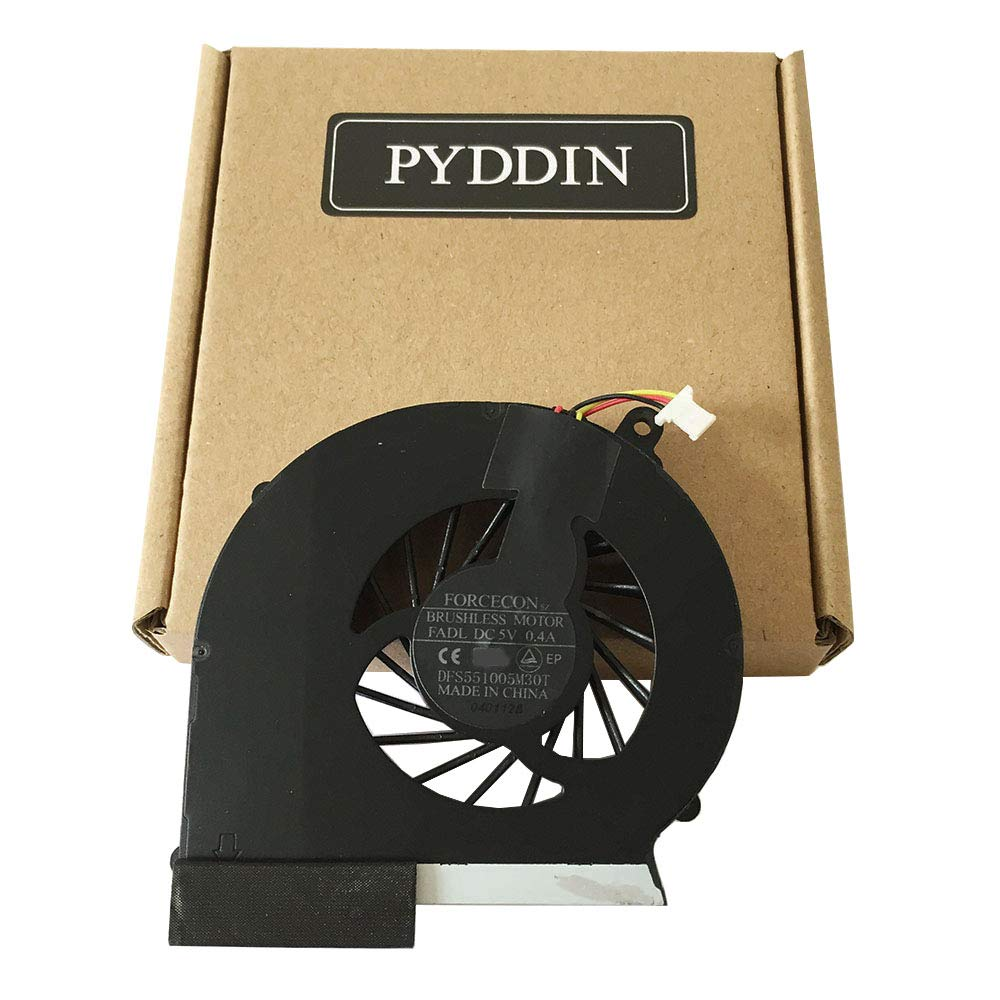Cooler para HP Compaq G43 G57 CQ43 CQ57 430 431 435 436 CQ57-210US CQ57-217NR CQ57-310US CQ57-314NR CQ57-315NR