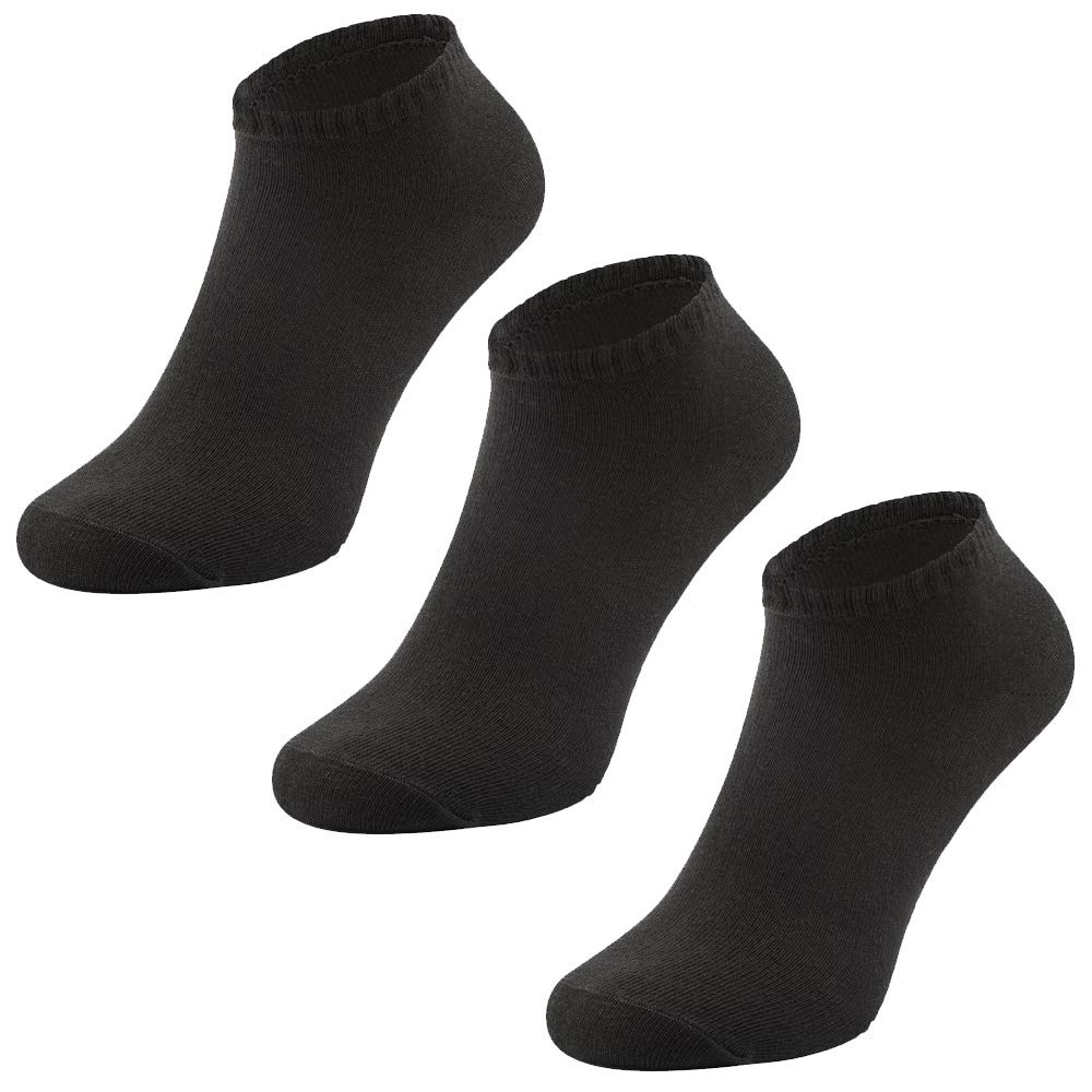 Anti-slip 3 x Pairs Non Slip Yoga Pilates Socks Martial Arts Fitness Dance Barre Sox UK 4-9 Non-slip,Full Toe Ankle Fall Prevention Grip Socks EU 38-44 by AllThingsAccessory/®