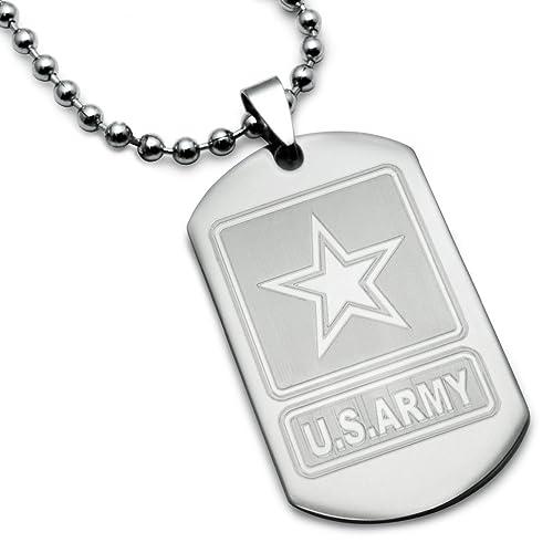 Amazon.com: U.S. Ejército logotipo con salmos 23: 4 ...