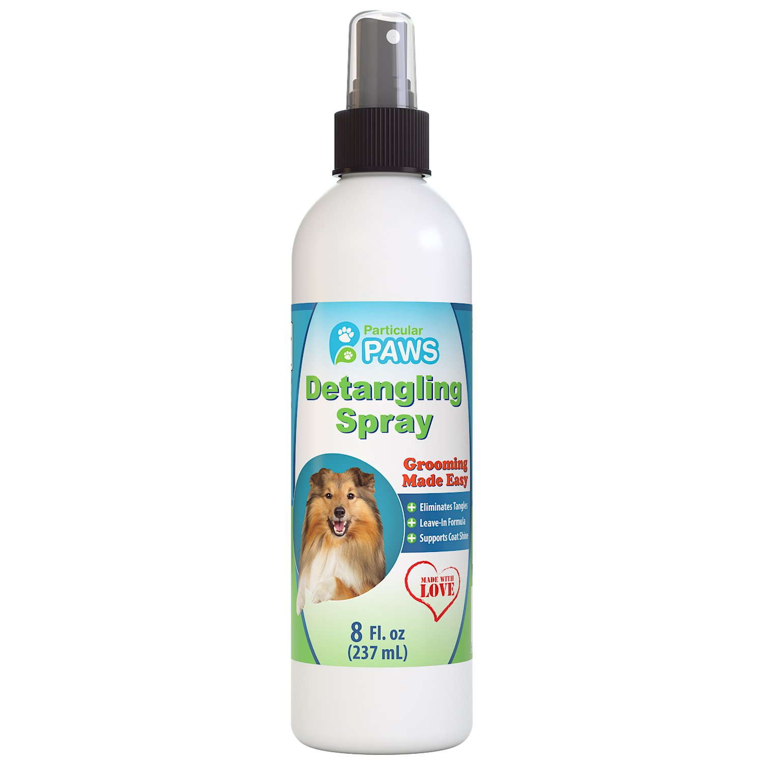 Particular Paws Detangling Spray for Dogs - Un Tangles and Conditions - 8oz