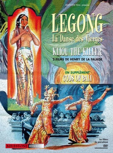 Henry de la Falaise Collection (3 Films) ( Legong: Dance of the Virgins / Kliou the Killer / Gods of Bali ) ( Kliou the Tiger ) [ NON-USA FORMAT, PAL, Reg.0 Import - France ] by Poetoe Aloes Goesti by