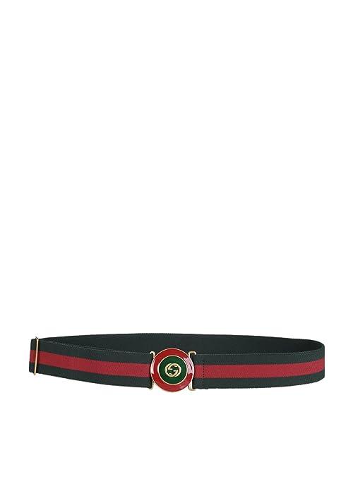 b3b1b1b5cb8 Gucci Women s 476456Hgwet8451 Red Green Cotton Belt  Amazon.ca  Sports    Outdoors