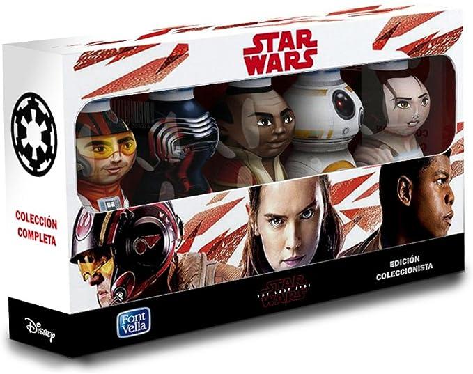 Font Vella Star Wars VIII Edición Coleccionista - 5 personajes en ...