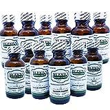 12 Schuessler Cell/Tissue Salts - Lactose-Free, Vegan & Organic (Calc-fluor, Calc-phos, Calc-sulph, Ferr-phos, Mag-phos, Kali-mur, Kali-phos, Kali-sulph, NAT-mur, NAT-phos, NAT-sulph, Silica) 6X