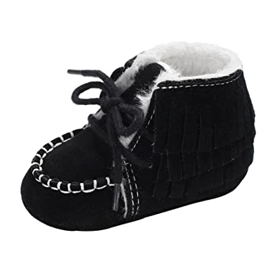 84e503e2e47 HOMEBABY Baby Girl Soft Booties Snow Boots Infant Toddler Walking Shoes  Warm Shoes Baby Cotton Shoes