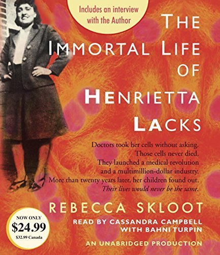 The Immortal Life of Henrietta Lacks by Rebecca Skloot (2015-11-10)