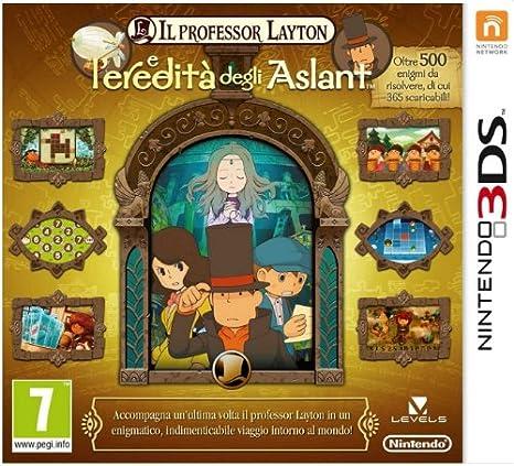 Il Professor Layton E Leredità Degli Aslant(3ds): Amazon.es: Videojuegos