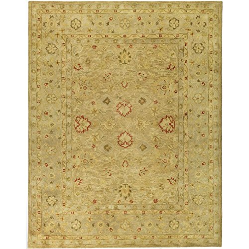 Safavieh Antiquities Collection AT822B Handmade Traditional Oriental Brown and Beige Wool Area Rug (9'6