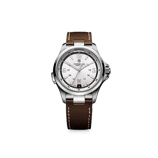Victorinox 241570 - Reloj de Pulsera Hombre, Color Marrón: Victorinox Swiss Army: Amazon.es: Relojes
