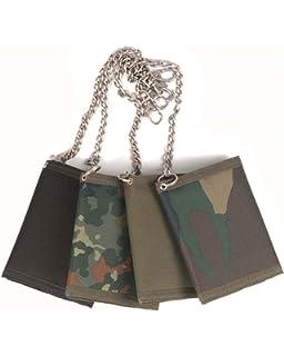 Mil-Tec Portefeuille avec chaîne de sécurité Camouflage m