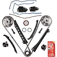 OCPTY Timing Chain Kit Timing Rail fits for 1998-2003 BMW 540i 740i Z8 4.4L 4.6L 4.8L 4.9L 5.0L 11311741777