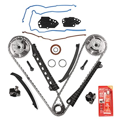 Variable Camshaft Timing Kit - Fits 2004, 2005, 2006, 2007, 2008 5 4L 24  Valve Triton Ford Expedition, F-150, F-250, F-350 Super Duty, Lincoln Mark