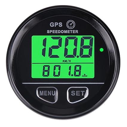 Velocímetro cuentakilómetros GPS digital con retroiluminación de Searon, impermeable