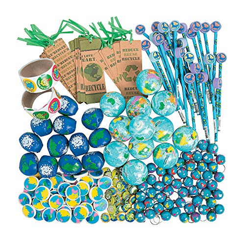 Fun Express - Earth Day Assortment - Toys - Assortments - 250Pc Assortments - 250 Pieces]()