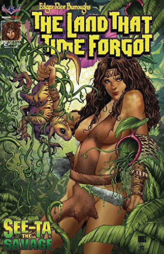 LAND THAT TIME FORGOT SEE-TA SAVAGE #2 (OF 2) CVR A AMERICAN MYTHOLOGY PRODUCTIONS 5/2018