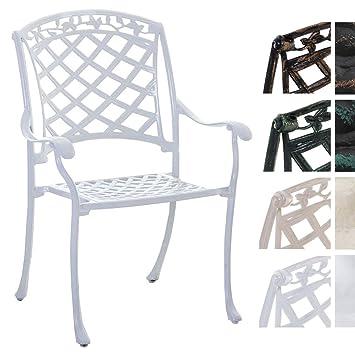 Schon CLP Alu Guss Garten Stuhl Indira, Stapelstuhl Mit Armlehnen, Design, Stuhl