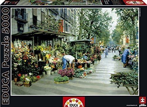 Educa Las Ramblas Barcelona Puzzle (5000 Piece), One Color by Educa: Amazon.es: Juguetes y juegos