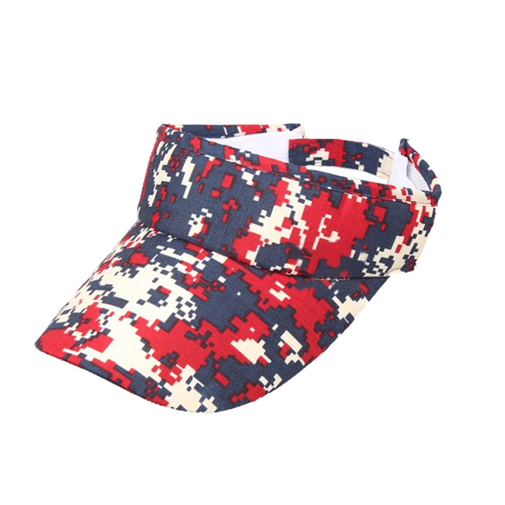 Opromo Digital Camouflage Military Visors Summer Outdoor Sports Sun Visor Hat 6CAP-BO0141_BEIGECAMO