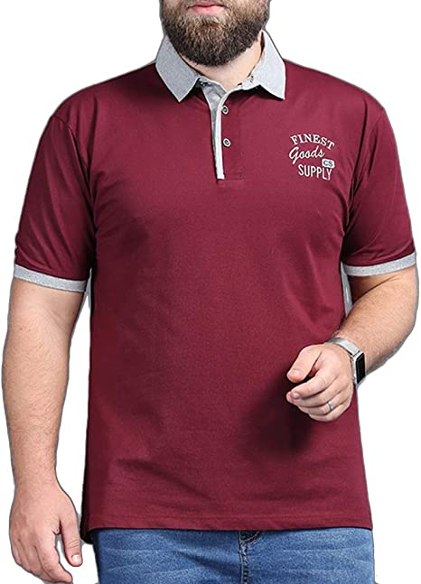 Camisa Polo para Hombre XL Golf Tennis T-Shirt Tallas Grandes ...