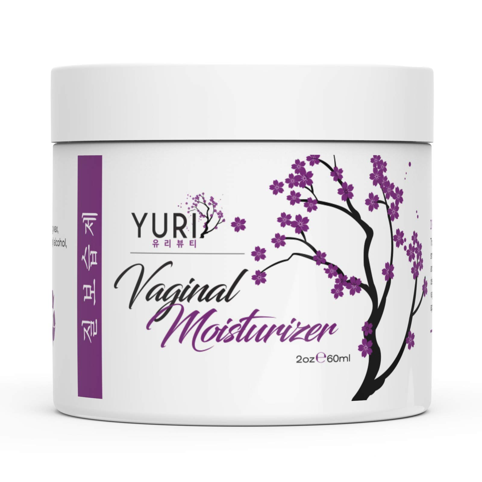 Vaginal Moisturizer - Vulva Balm Intimate Skin Care, Relieves Dryness and Irritation, Redness, Burning Chafing, Itching, Odors 100% Natural - Moisturizes + Soothes + Personal Lubricant - 2oz by Yuri