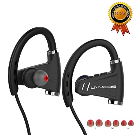 Auricolari Bluetooth - LNMBBS U9 Cuffie Bluetooth 4.1 In-ear con Microfono  per Sport a111255ad3d3