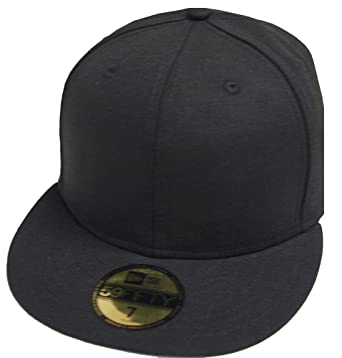 c4124dc5 New Era Black Schwarz Blanc Blank 59fifty 5950 Fitted Cap Kappe Men ...