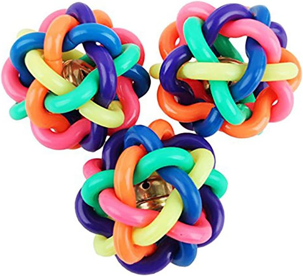 1 pelota de juguete Da.Wa para mascotas, diseño de arcoíris con ...