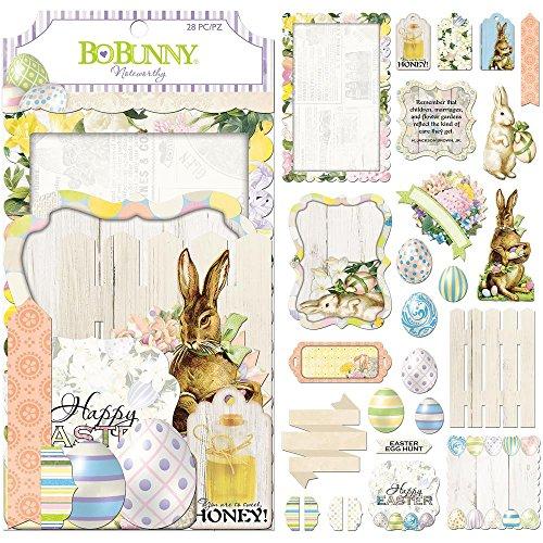 Bo Bunny 7310109 Embellishments, - Scrapbook Bo Bunny