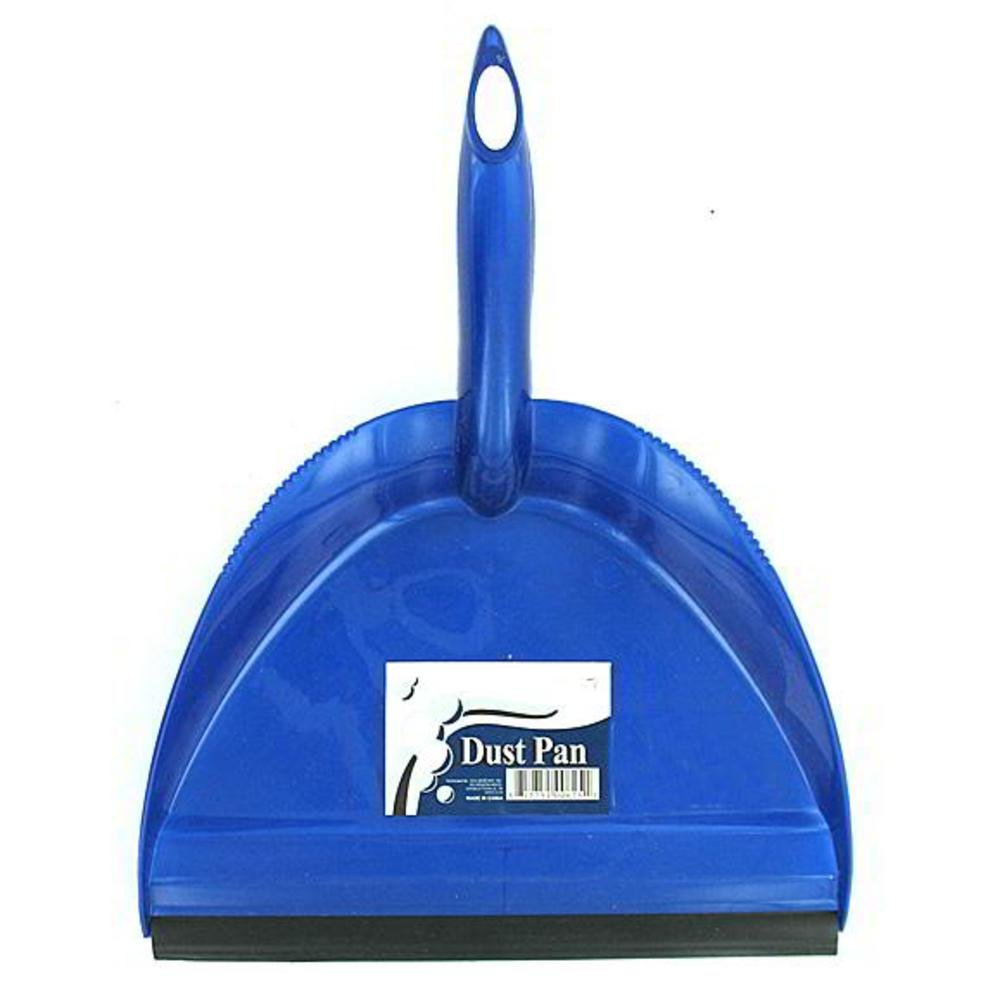 Cleaning Products Dustpan With Rubber Lip (Pack Of 72) Pack Of 72 Pcs