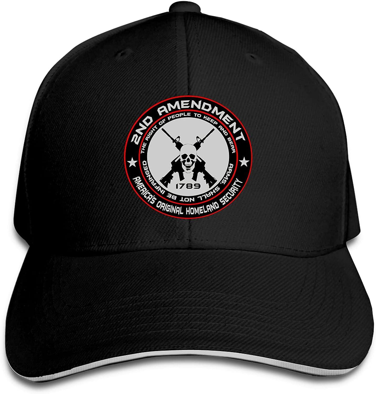 2nd Amendment America's Original Homeland Security Dad Hat Adjustable for Women and Men Denim Hats