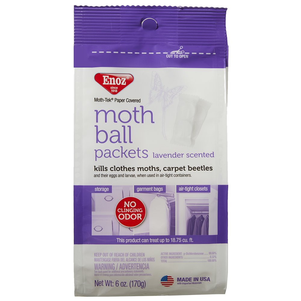 Enoz Moth Ball Packets - Lavender Scented (3)