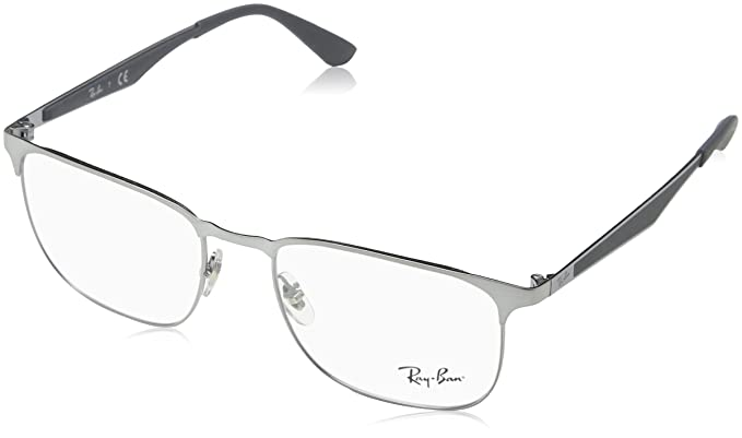 2c81867d7c4 Amazon.com  Ray-Ban Unisex RX6363 Eyeglasses Gold Top On Black 52mm   Clothing