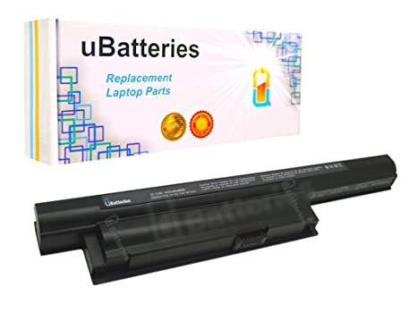 UBatteries Compatible 48Whr Battery Replacement For Sony Vaio VPC-EA VPCEA VPC-EB VPCEB